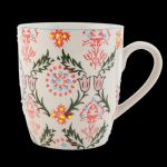 Multi Colour Decorated Ceramic MUG